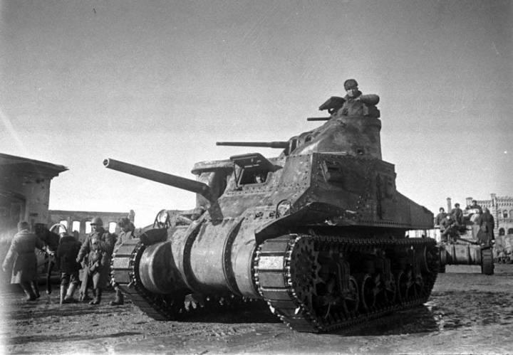 Средний танк МЗ «Ли»