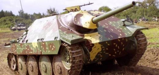 САУ Jagerpanzer 38(t) Hetzer