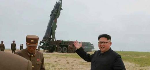 Испытательный пуск северокорейской ракеты Musudan