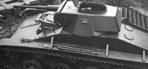 Опытный образец танка Т-45, вид слева сверху. Свердловск май 1942 года