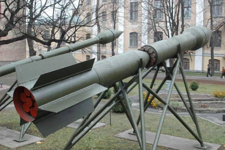 Хвостовая часть ракеты