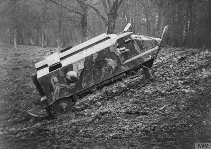 Французский танк CA-1 Шнейдер