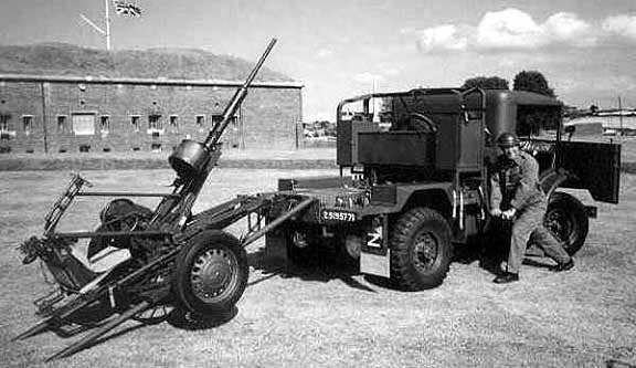 20-мм зенитная установка Polsten