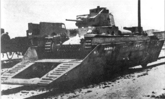 Pz.38(t) на бронеплатформе