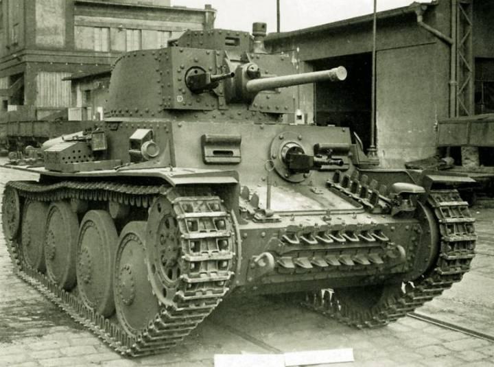 Pz.38(t) Ausf. F