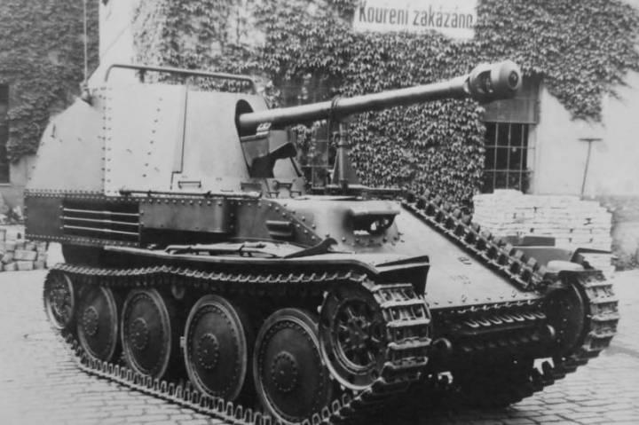 7.5cm PaK 40/3 auf Sfl.38(Ausf.М)