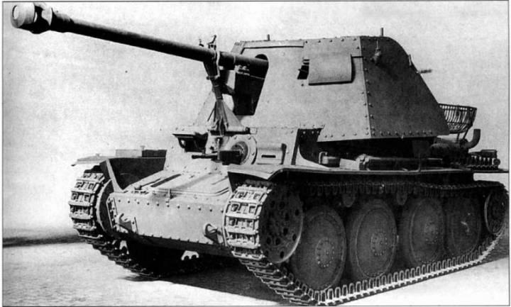 7.5cm PaK 40/3 auf Sfl.38(Ausf.H) Sd.Kfz.138