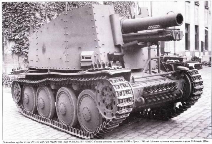 Geschutzwagen 38 (t) fur s.IG 33/2 (sf)