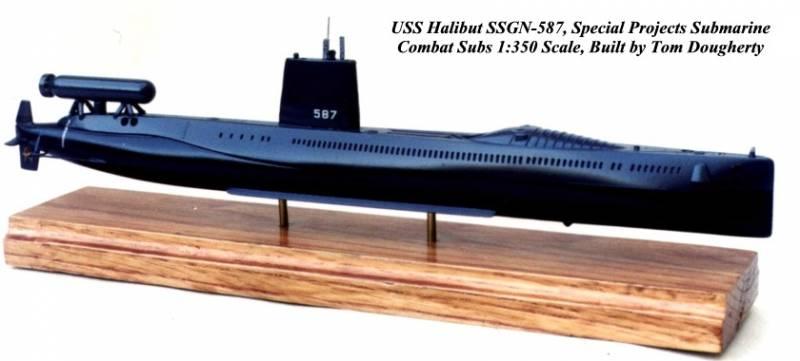 Атомная подводная лодка USS Halibut (SSGN-587). Часть II: Разведывательный корабль