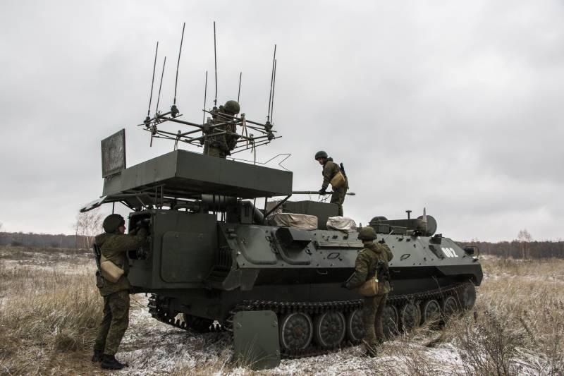 Автоматическая станция помех Р-330БМ
