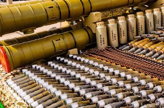 Более миллиона боеприпасов после ремонта возвращены в российские арсеналы