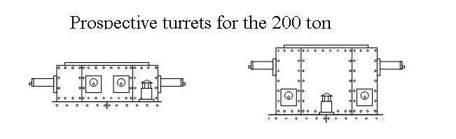 Проект сверхтяжелого танка 200 ton Trench Destroyer (США)