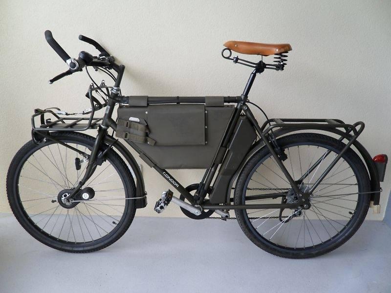 Велосипед швейцарской армии «Militärvelo». Модели МО-05, МО-93, МО-12