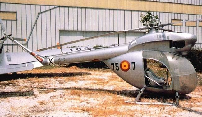 Вертолёты Aerotecnica AC-12 и Aerotecnica AC-14 (Испания)