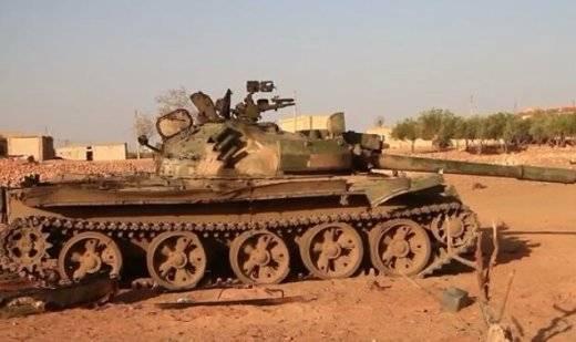 Сирийская армия отбила у террористов Т-62