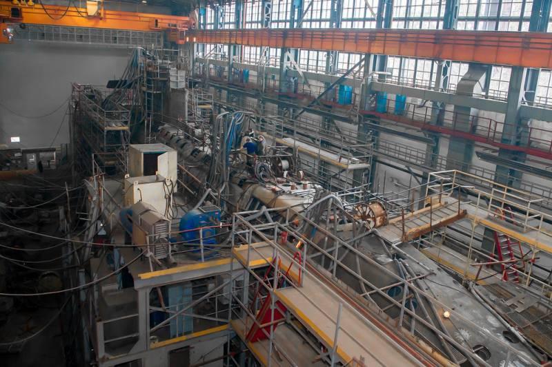 Строительство подводной лодки «Кронштадт»