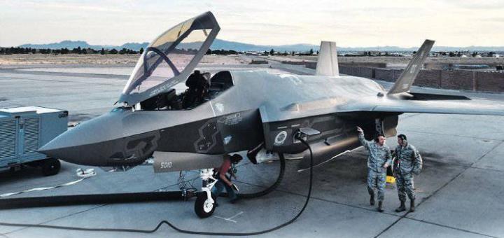 F-35 против С-400